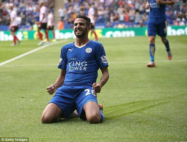 Vardy bị treo giò, Leicester City trông chờ vào Mahrez