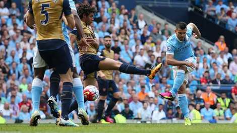 Aguero vẫn duy trì phong độ ổn định ở Premier League