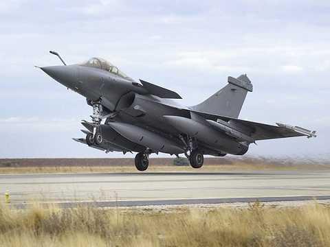 Máy bay chiến đấu Rafale (Ảnh Minh họa)