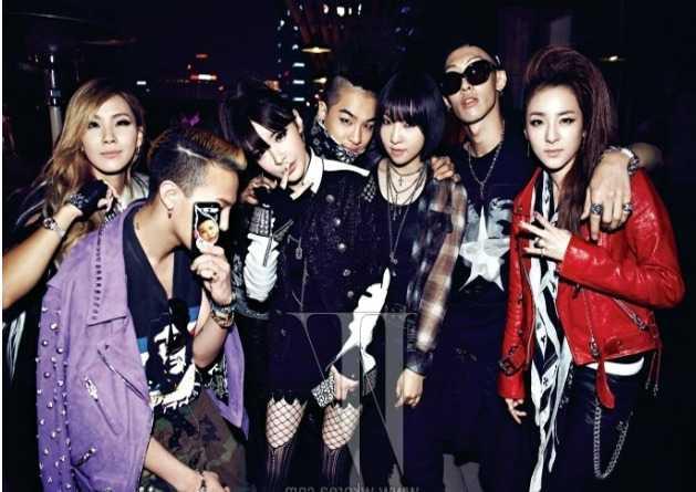Yang rất thân thiết với Big Bang và 2NE1