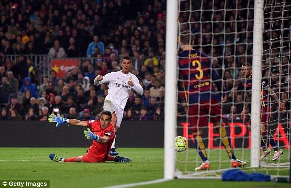 Khoảnh khắc ghi bàn kỳ diệu của Ronaldo