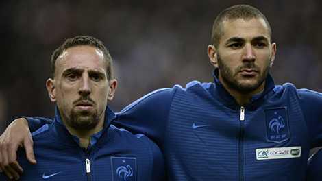 Scandal của Benzema và Ribery là khởi đầu cho những bê bối của đội tuyển Pháp năm 2010