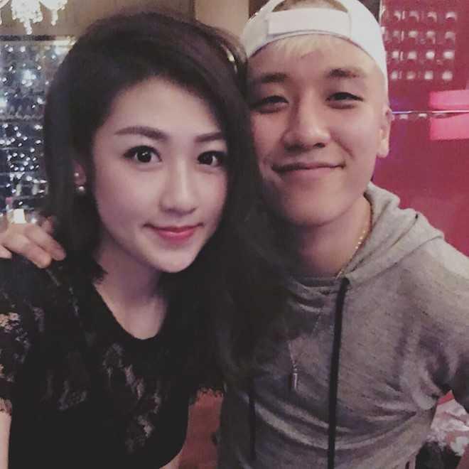Tú Anh khoe ảnh chụp cùng Seungri.