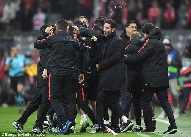 Atletico Madrid vào chơi chung kết Champions 2015-16