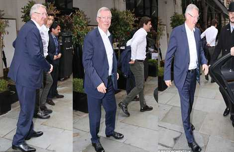 Sir Alex cùng Pochenttino chia tay nhau sau bữa trưa ngày 10/5