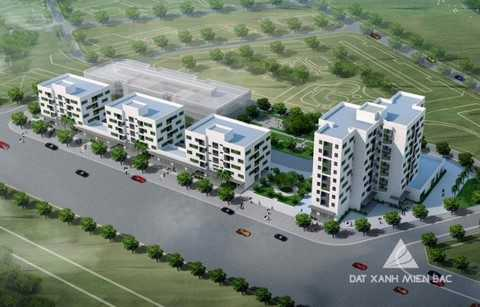 Tổ hợp căn hộ New Space Giang Biên dự kiến bàn giao nhà tháng 5/2016