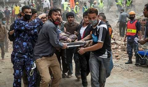 Thảm họa kinh hoàng ở Nepal xảy ra vào ngày 25/4 năm ngoái đã cướp đi sinh mạng của 9.000 người