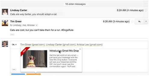 Tính năng Mic Drop của Google được tồn tại chưa được một ngày đã bị khai tử