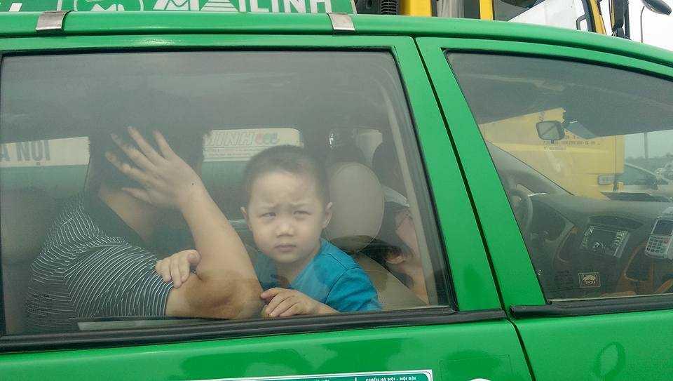 Nhiều người mệt mỏi vì ùn tắc (ảnh: Lê Nam)