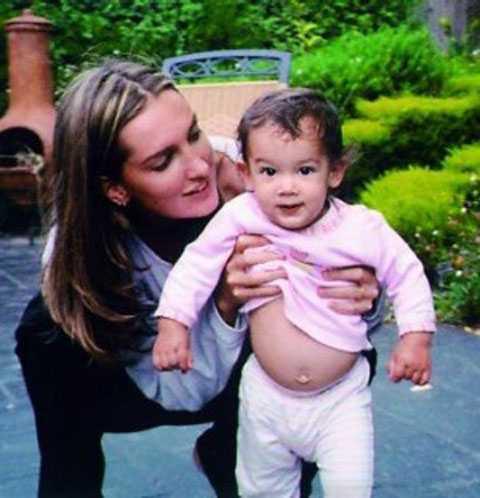 Carrie và con gái cô