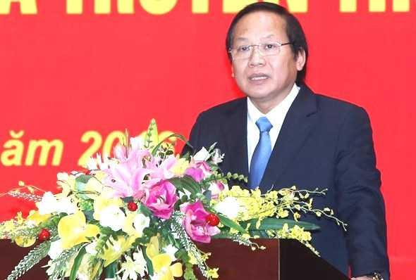 Bộ trưởng Bộ TT&TT Trương Minh Tuấn chia sẻ quyết tâm chính trị