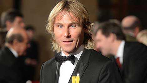 Nedved từng là một ngôi sao hàng đầu của bóng đá châu Âu