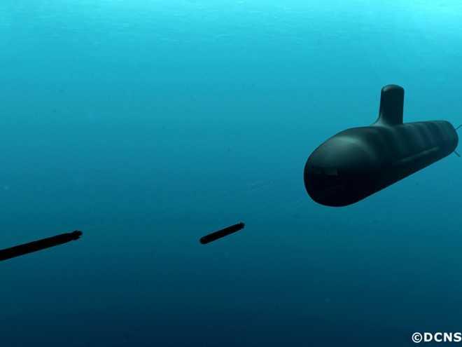 Tàu ngầm Barracuda phóng ngư lôi diệt mục tiêu