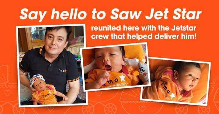 Ghi nhận đã có 3 trường hợp sinh con trên máy bay của Jetstar