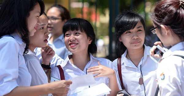 Thí sinh sẽ có nhiều lợi ích khi đăng ký vào nhóm trường tuyển sinh theo nhóm