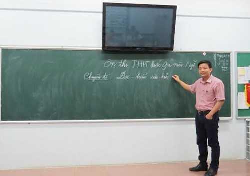 Thạc sỹ Đỗ Trung Kiên – GV Ngữ văn trường THPT Đoàn Thị Điểm