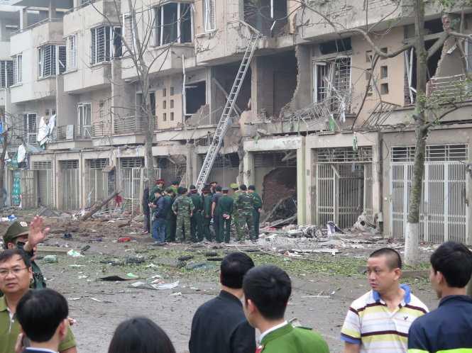Hiện trường vụ nổ kinh hoàng khiến 5 người chết