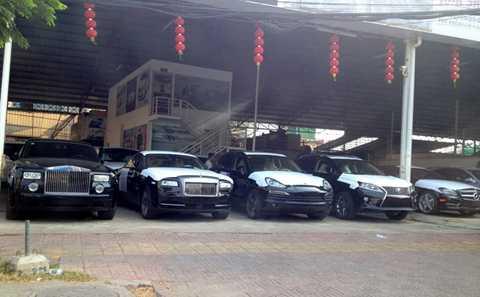 Campuchia là thị trường béo bở của xe sang bởi thuế thấp. Ảnh: Haskanwrites.