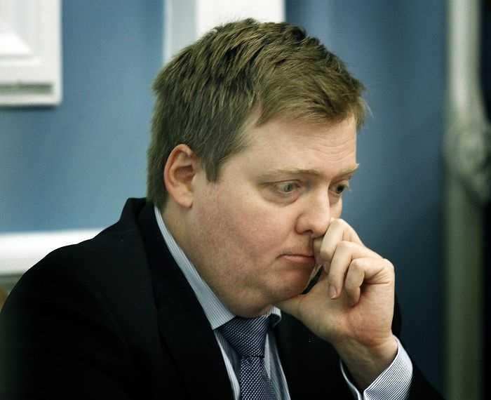 Thủ tướng Iceland Sigmundur Davíð Gunnlaugsson