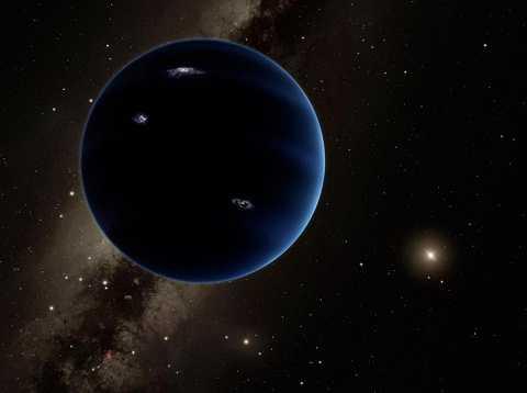 Gần đây, có nhiều giả thuyết cho rằng tồn tại hành tinh thứ chín trong hệ mặt trời. Ảnh Metro