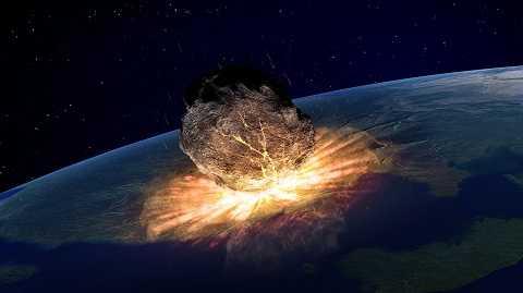 Mới đây còn xuất hiện thông tin ngày tận thế, trái đất sẽ bị hủy diệt. Ảnh The Sun