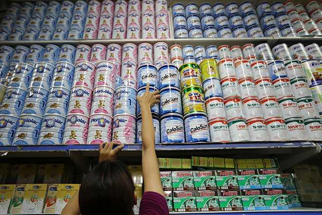 Thuế đối với sản phẩm sữa vẫn cao hơn nhiều so với thuế đối với các sản phẩm rượu bia, thuốc lá