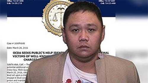 Minh Béo bị bắt vì cáo buộc lạm dụng tình dục trẻ em.