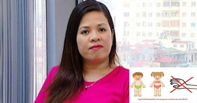 TS Vũ Thu Hương đang cùng các đồng nghiệp thực hiện dự án phổ biến kiến thức giáo dục giới tính cho trẻ em mầm non và tiểu học khắp Việt Nam.