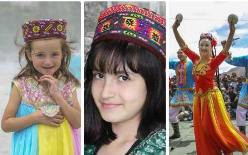 Những bé gái xinh đẹp của vùng đất Hunzas. Ảnh: Gbcolour.
