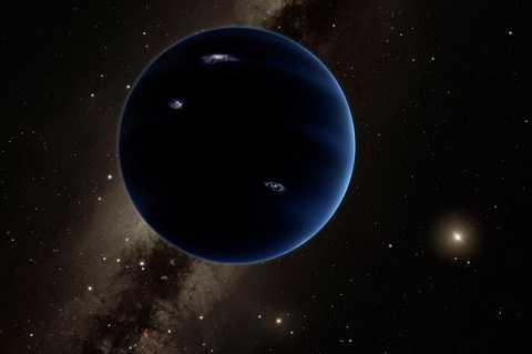 Xuất hiện hành tinh thứ chín trong hệ mặt trời. Ảnh The Mirror