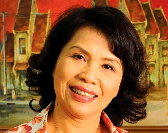 Bà Nguyễn Thị Hồng Minh - Ảnh: L.N.Minh
