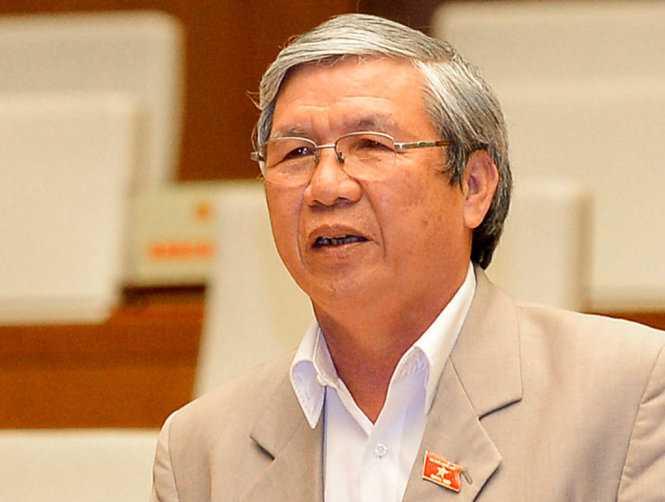 Đại biểu Lê Văn Lai - Ảnh: Việt Dũng