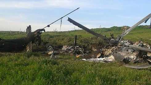 Máy bay trực thăng Azerbaijan bị bắn rơi ở vùng xung đột