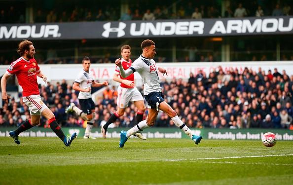 Tottenham 3-0 MU: Alli mở tỷ số