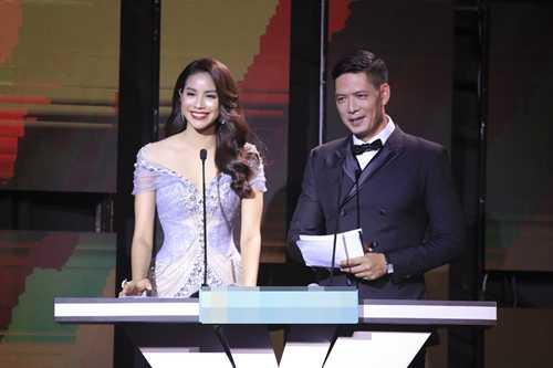 Phạm Hương, Bình Minh đảm nhiệm vai trò MC.