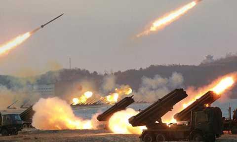 Triều Tiên tuyên bố đã sẵn sàng tiến hành tấn công hạt nhân Mỹ. Ảnh: Reuters