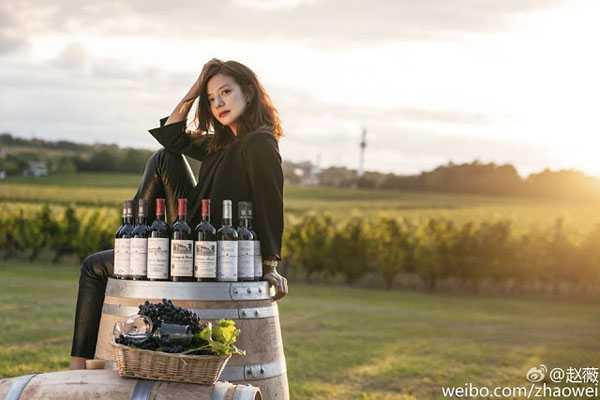 Nhà sản xuất rượu vang tại Pháp của Triệu Vy.