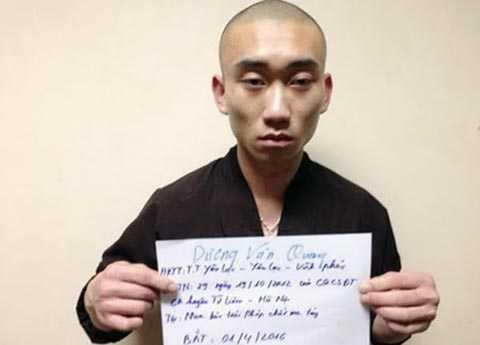 Đối tượng truy nã Dương Văn Quang giả sư trốn tại chùa.