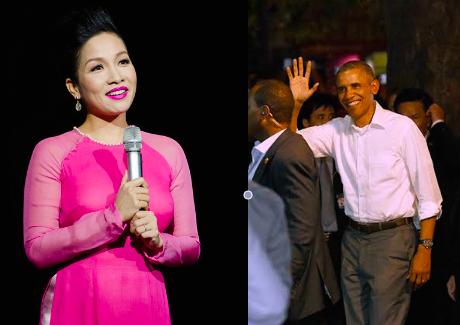 Diva Mỹ Linh có vinh dự hát trước tổng thống Mỹ Barack Obama