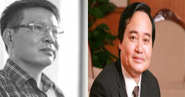 TS Lương Hoài Nam gửi nội dung đề xuất với Bộ trưởng Bộ Giáo dục và Đào tạo cho chương trình giáo dục phổ thông mới gồm 6 điểm.