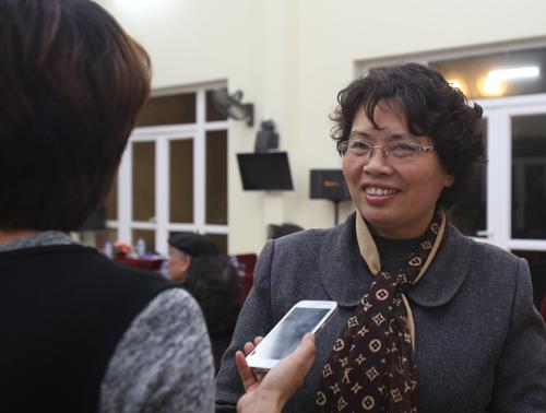 Bà Lê Thị Xuân, cư dân khu Nam Thăng Long I chia sẻ, Chủ tịch nước là người có nếp sống thân thiện.