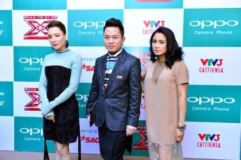 Ba giám khảo Hồ Quỳnh Hương, Tùng Dương, Thanh Lam có mặt tại sự kiện. Riêng Dương Khắc Linh vắng mặt vì đi công tác nước ngoài.