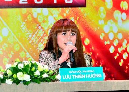 Lưu Thiên Hương giữ vai trò giám đốc âm nhạc của chương trình.