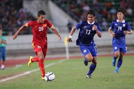 U19 Việt Nam sẽ đối đầu với U21 Thái Lan