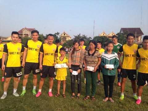 Family No.1 đã từng thi đấu để gây quý từ thiện rất nhiều nơi