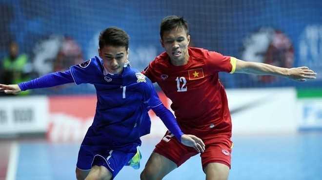 Futsal Việt Nam cùng Thái Lan vào World Cup