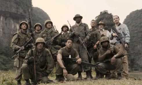 Đoàn thám hiểm trong phimKong: Skull Island.Ảnh:Warner Bros.