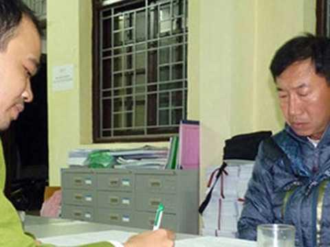 Một kẻ trốn truy nã người Hàn Quốc nhập cảnh vào Việt Nam.