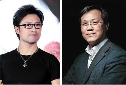 Trác Vỹ (phải) bị Uông Phong khởi kiện.   Trong giới báo chí, Trác Vỹ có tiếng là vua săn tin paparazzi khi nắm   trong tay hãng tin Phong Hành - trang từng phanh phui hàng loạt chuyện   hẹn hò của sao Hoa ngữ. Ảnh: Sina.