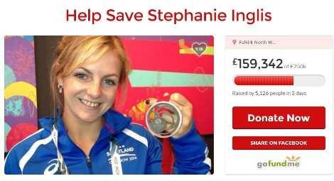 Số tiền ủng hộ cho nữ võ sĩ Stephanie ngày một tăng
